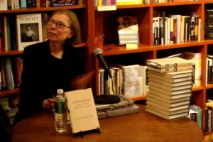 Janet Malcolm at a Chelsea reading