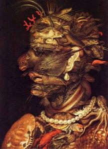Painting by Archimboldo
