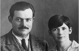 Ernest Hemingway and Pauline Pfeiffer