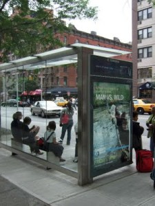 bus shelter no bus