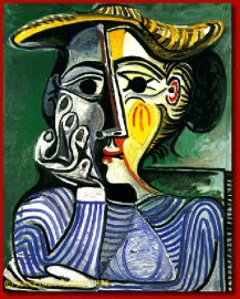 cubism-Hand-Painted-Canvas-Oil-painting-Woman-with-yellow-hat-Jacqueline-Pablo-Picasso
